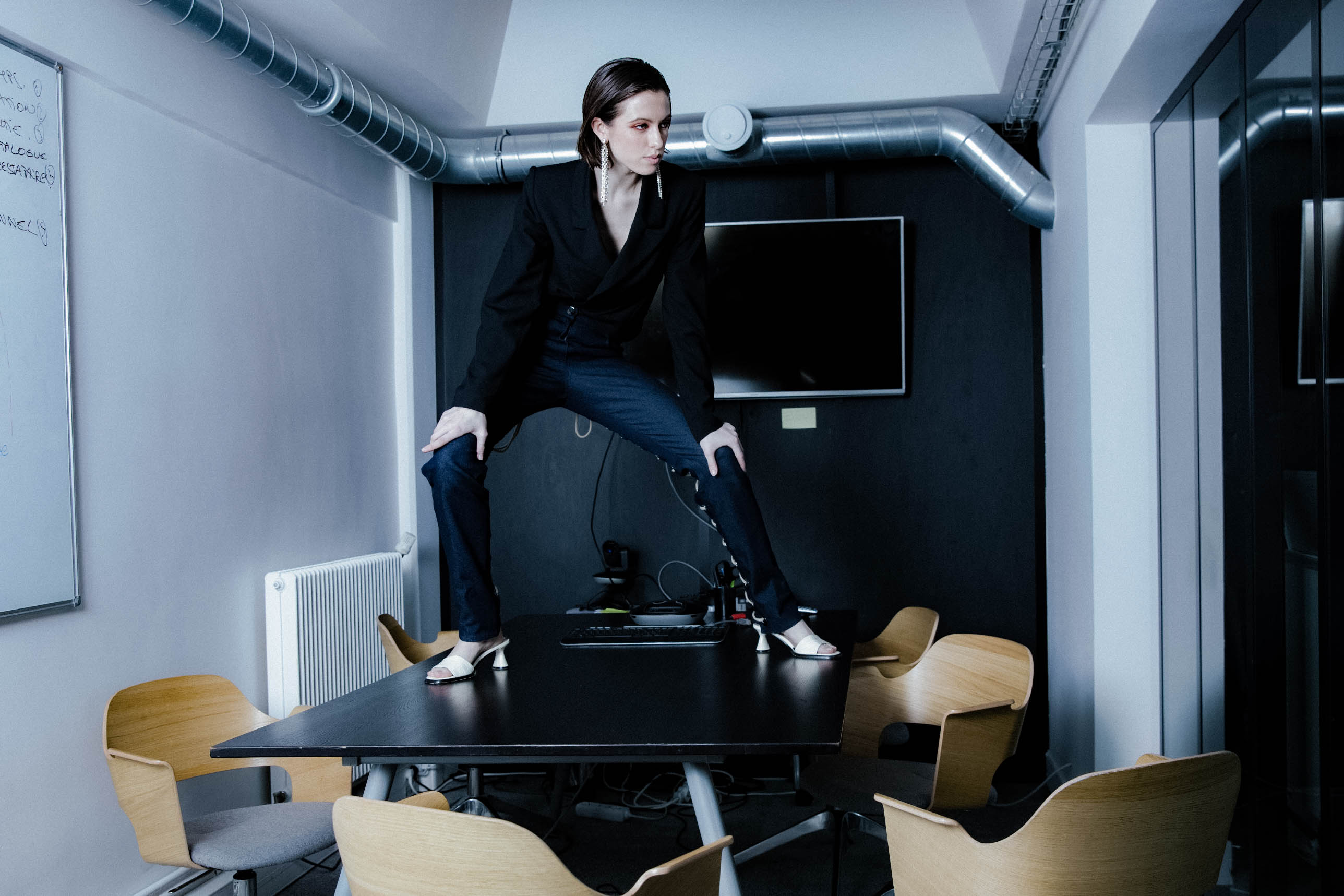 THE EMPTY INDUSTRY | Photographer: Renata Kats | Style: Alexandra Osina | Makeup + Hair: Christine Frame